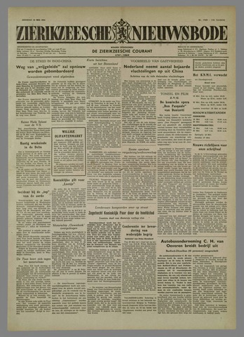 Zierikzeesche Nieuwsbode 1954-05-18