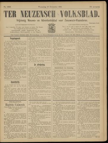 Ter Neuzensch Volksblad. Vrijzinnig nieuws- en advertentieblad voor Zeeuwsch- Vlaanderen / Zeeuwsch Nieuwsblad. Nieuws- en advertentieblad voor Zeeland 1912-12-18