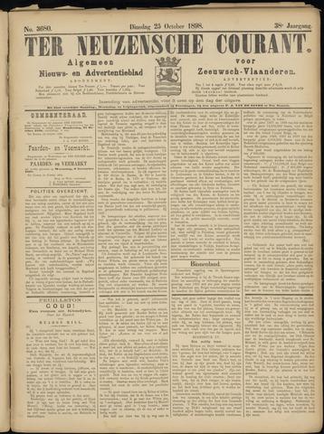 Ter Neuzensche Courant. Algemeen Nieuws- en Advertentieblad voor Zeeuwsch-Vlaanderen / Neuzensche Courant ... (idem) / (Algemeen) nieuws en advertentieblad voor Zeeuwsch-Vlaanderen 1898-10-25