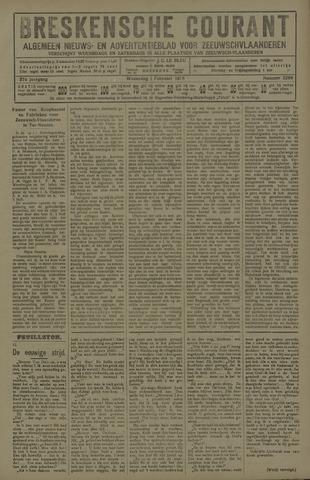 Breskensche Courant 1928-02-01