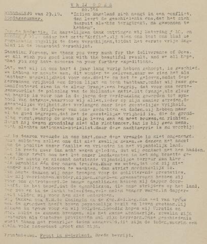 Vrij Goes 1944-10-29