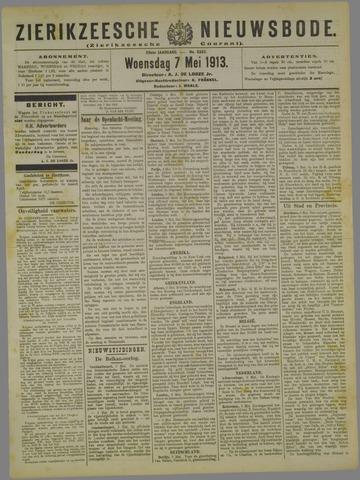 Zierikzeesche Nieuwsbode 1913-05-07