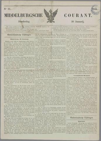 Middelburgsche Courant 1854-01-26