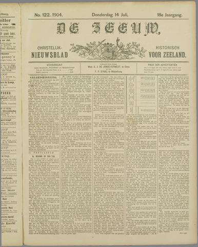 De Zeeuw. Christelijk-historisch nieuwsblad voor Zeeland 1904-07-14