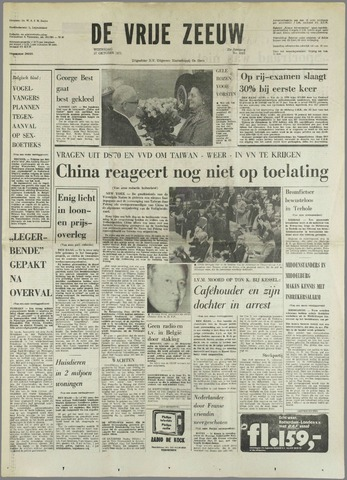 de Vrije Zeeuw 1971-10-27
