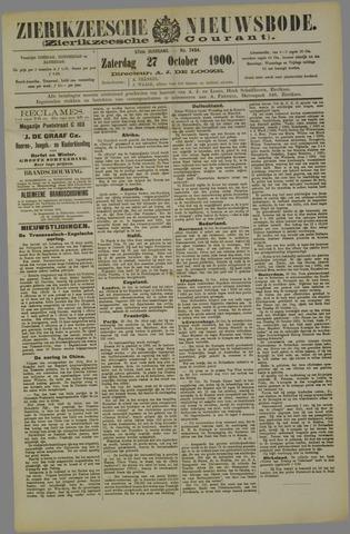 Zierikzeesche Nieuwsbode 1900-10-27