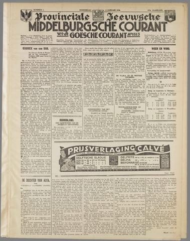 Middelburgsche Courant 1934-01-04