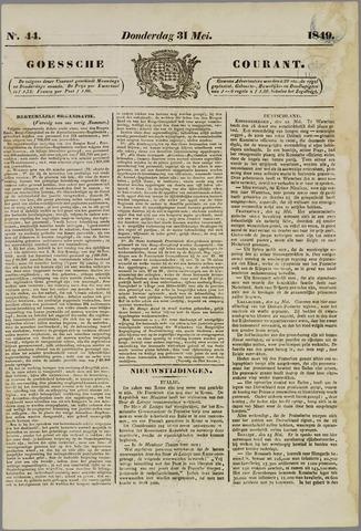 Goessche Courant 1849-05-31