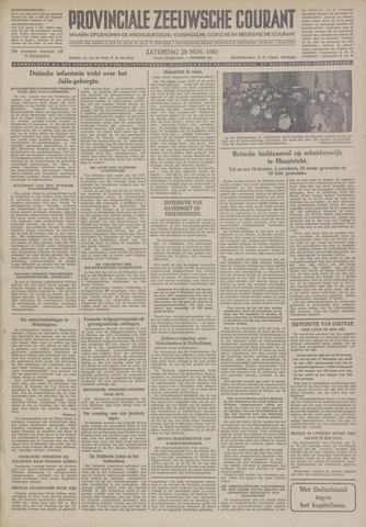 Provinciale Zeeuwse Courant 1941-11-29