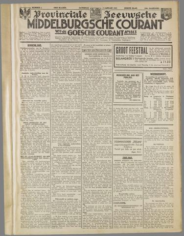 Middelburgsche Courant 1937