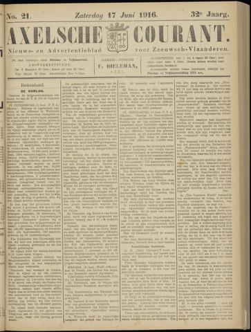 Axelsche Courant 1916-06-17