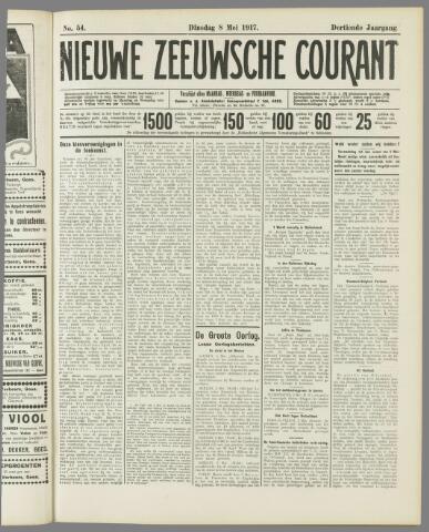 Nieuwe Zeeuwsche Courant 1917-05-08