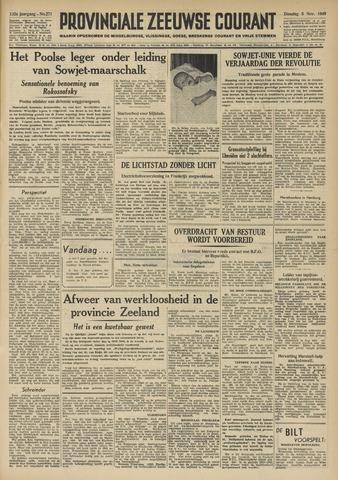 Provinciale Zeeuwse Courant 1949-11-08