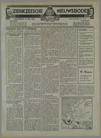 Zierikzeesche Nieuwsbode 1941-07-23