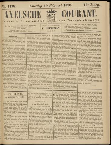 Axelsche Courant 1898-02-19