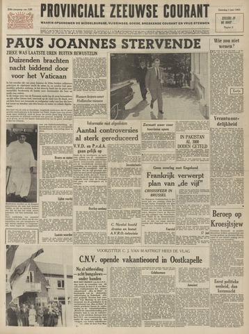 Provinciale Zeeuwse Courant 1963-06-01