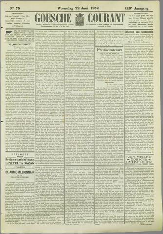 Goessche Courant 1932-06-22