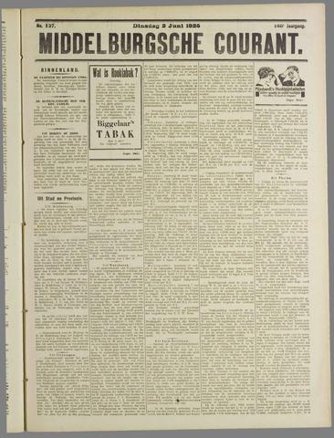 Middelburgsche Courant 1925-06-02