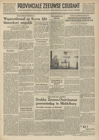 Provinciale Zeeuwse Courant 1952-07-18