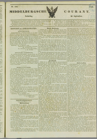 Middelburgsche Courant 1846-09-26
