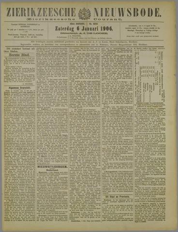 Zierikzeesche Nieuwsbode 1906-01-06