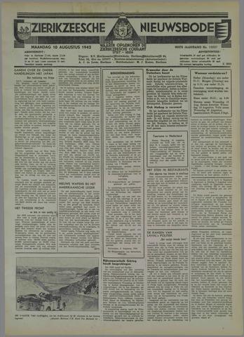 Zierikzeesche Nieuwsbode 1942-08-10