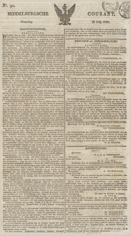 Middelburgsche Courant 1829-07-28