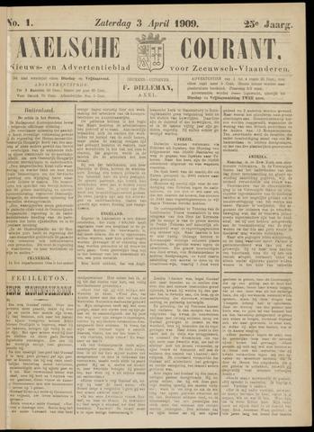 Axelsche Courant 1909-04-03