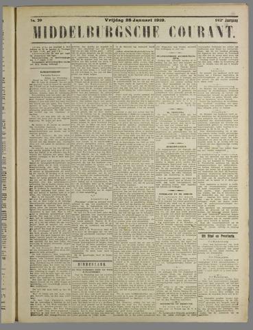 Middelburgsche Courant 1919-01-25