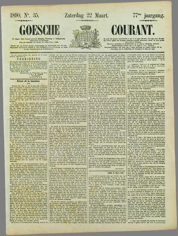 Goessche Courant 1890-03-22
