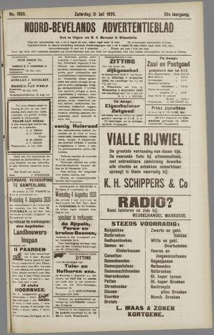 Noord-Bevelands Nieuws- en advertentieblad 1926-07-31