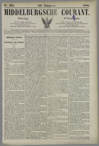 Middelburgsche Courant 1888-11-06