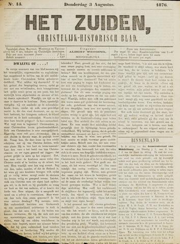 Het Zuiden, Christelijk-historisch blad 1876-08-03