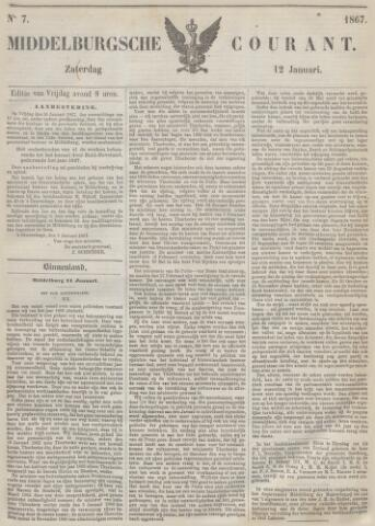 Middelburgsche Courant 1867-01-12
