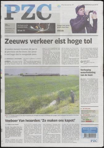 Provinciale Zeeuwse Courant 2014-06-05