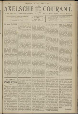 Axelsche Courant 1924-12-12