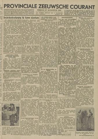 Provinciale Zeeuwse Courant 1943-08-27