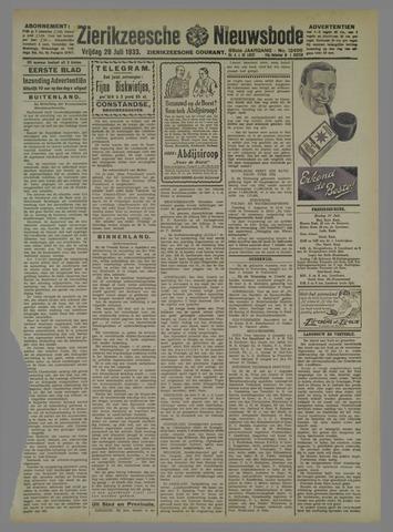 Zierikzeesche Nieuwsbode 1933-07-28