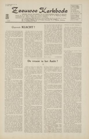 Zeeuwsche kerkbode, weekblad gewijd aan de belangen der gereformeerde kerken/ Zeeuwsch kerkblad 1965-06-18