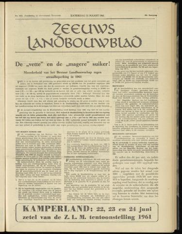 Zeeuwsch landbouwblad ... ZLM land- en tuinbouwblad 1961-03-11