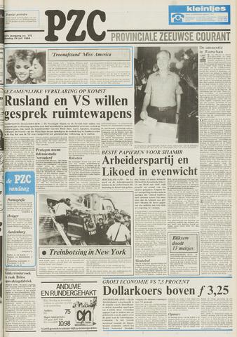 Provinciale Zeeuwse Courant 1984-07-24
