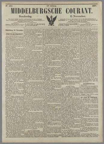 Middelburgsche Courant 1897-11-11