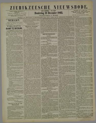 Zierikzeesche Nieuwsbode 1893-12-21