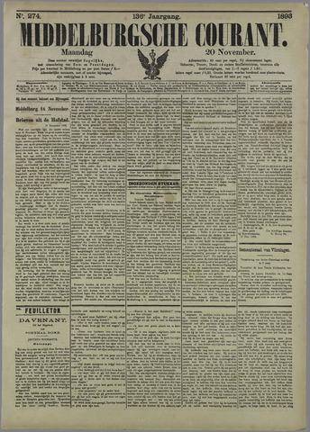 Middelburgsche Courant 1893-11-20