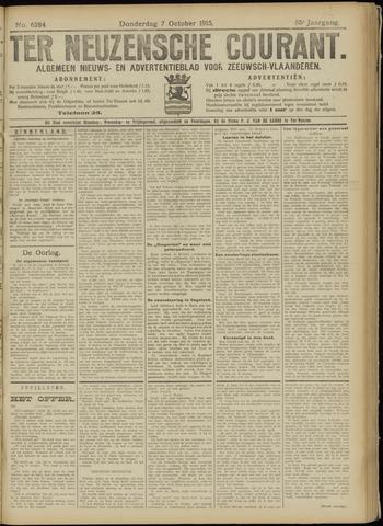 Ter Neuzensche Courant. Algemeen Nieuws- en Advertentieblad voor Zeeuwsch-Vlaanderen / Neuzensche Courant ... (idem) / (Algemeen) nieuws en advertentieblad voor Zeeuwsch-Vlaanderen 1915-10-07