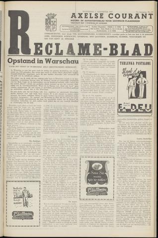 Axelsche Courant 1957-08-07