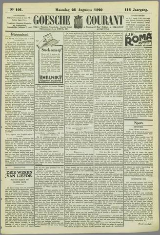 Goessche Courant 1929-08-26