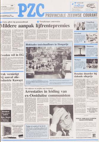 Provinciale Zeeuwse Courant 1990-10-27