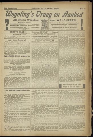Zeeuwsch Nieuwsblad/Wegeling's Nieuwsblad 1925-01-16