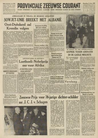 Provinciale Zeeuwse Courant 1961-12-11